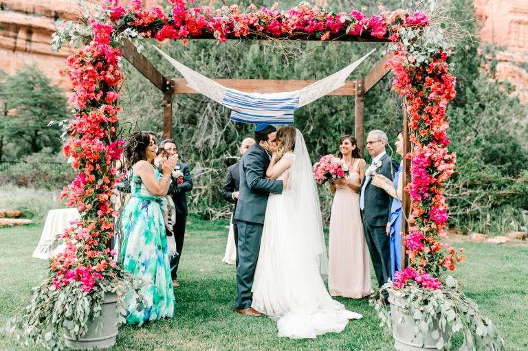 sedona destination wedding at the enchantment resort